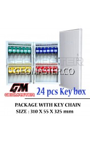 Geomaster 24 psc High Quality Key box , keybox Key Boxes Key Cabinet - Stock Ready ( Fast Shipping )
