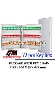 Geomaster 72 psc High Quality Key box , keybox Key Boxes Key Cabinet - Stock Ready ( Fast Shipping )