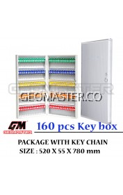 Geomaster 160 psc High Quality Key box , keybox Key Boxes Key Cabinet - Stock Ready ( Fast Shipping )