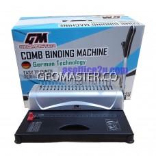 GEOMASTER GM-1300 COMB BINDING MACHINE