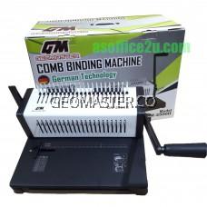 GEOMASTER GM-2500 COMB BINDING MACHINE