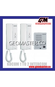 KOCOM KDP-602AD INTERCOM DOOR PHONE SYSTEM 1 to 2