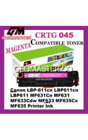 Compatible Laser Toner Cartridge ImageClass Canon 045 Compatible 045 Cartridge 045 CRG045 CRG 045 Magenta MG M Colour Laser Toner Cartridge For Canon LBP-611cn LBP611cn LBP611 MF631Cn MF631 MF633Cdw MF633 MF635Cx MF635 Printer Ink