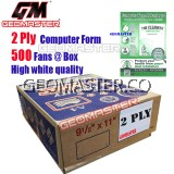 GM 2 PLY COMPUTER FORM (500 FANS)