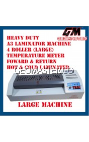 GEOMASTERC LARGE A3 LAMINATOR MACHINE - SUPER HAEVY DUTY