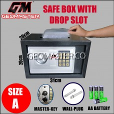 GEOMASTER GM-20 Drop Slot Deposit Safe Box /Safety box GM20-DS(Thick)
