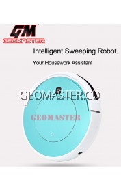 GEOMASTER Auto Robotic Vacuum Cleaner Automatic Sweeping Machine Intelligent Household Cleaning Dry Mop the Floor Vacuum Cleaner