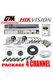 HIK VISION CCTV DS-7204HQHI-K1 SERIES TURBO HD DVR 4CH- FULL HD QUALITY