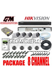 HIK VISION CCTV DS-7208HQHI-K1 SERIES TURBO HD DVR 8CH- FULL HD QUALITY