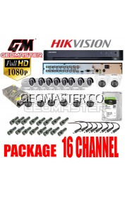 HIK VISION CCTV DS-7216HQHI-K1 SERIES TURBO HD DVR 8CH- FULL HD QUALITY