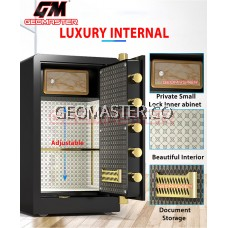GEOMASTER DIGITAL FIRE RESISTANT SAFE BOX SAFETY BOX LARGE SAFE BOX -52KG