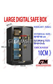 GEOMASTER DIGITAL FIRE RESISTANT SAFE BOX SAFETY BOX LARGE SAFE BOX -52KG