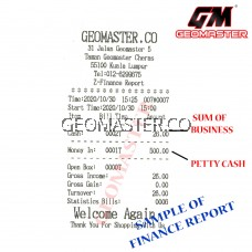 GEOMASTER CASHIER MACHINE , CASH REGISTER - FULL SETTING