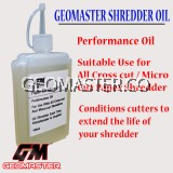 Geomaster Paper Shredder Oil -100ml