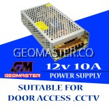 Gemaster Power Supply 12v10a - Speacial For Door Access & CCTV System