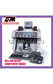 GM2118 HEAVY DUTY BANKERS  MONEY COUNTER NOTES COUNTER