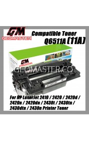 Compatible Laser Toner HP Q6511A / 11A / Q6511 High Quality Compatible Toner Cartridge For HP LaserJet 2410 / 2420 / 2420d / 2420n / 2420dn / 2430t / 2430tn / 2430dtn / 2430n Printer Toner