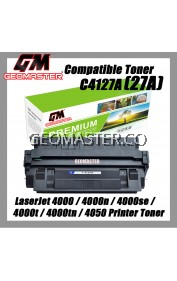 Laser Toner HP Compatible C4127X / 27X / C4127 Compatible Toner Cartridge For LaserJet 4000 / 4000n / 4000se / 4000t / 4000tn / 4050 Printer Toner