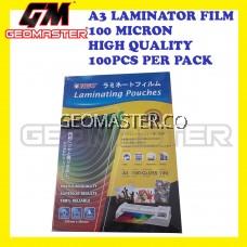 A3 SIZE LAMINATOR FILM / LAMINATE FILM / NISO LAMINATOR FILM