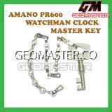 AMANO WATCHMAN CLOCK MASTER KEY