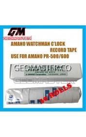 AMANO PR600 WATCHMAN CLOCK PAPER ROLLS - 30ROLLS