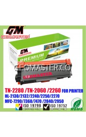 Compatible Brother TN2060 / TN2260 / TN2280 Laser Toner Cartridge For Brother HL-2130 / DCP-7055 / HL-2240D / HL-2250DN / HL-2270DW / DCP-7060D / MFC-7360 / MFC-7860DW / FAX-2840 Printer