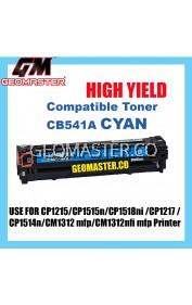HP CB541A / 125A Cyan High Quality Compatible Toner Cartridge For HP CP1210 / CP1215 / CP1510 / CP1515 / CP1518 / CM1300 / CM1312 Printer Ink