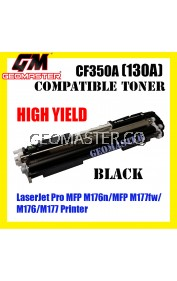Compatible Laser Toner HP CF350A / 130A Black High Quality Compatible Toner Cartridge For LaserJet Pro MFP M176n / MFP M177fw / M176 / M177 Printer